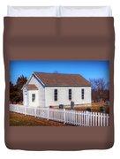 Bonds Chapel 1883 Duvet Cover