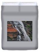 Bone Creek Falls Duvet Cover