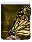 Boneyard Butterfly Duvet Cover