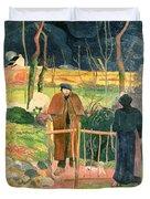 Bonjour Monsieur Gauguin Duvet Cover