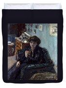 Bonnard: Lady, 19th C Duvet Cover