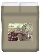 Bonnard: Place Clichy, C1895 Duvet Cover