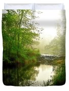 Bonneyville Mill Waterfall Duvet Cover