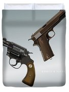 Bonnie And Clyde - Alternative Movie Poster Duvet Cover