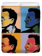 Bono Pop Panels Duvet Cover