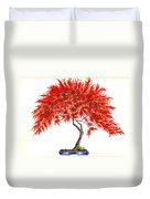 Bonsai Tree - Inaba Shidare Duvet Cover