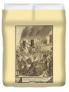 Book Of Martyrs, 1563 Duvet Cover