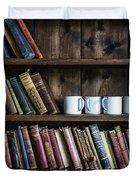 Book Shelf Duvet Cover