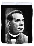 Booker T. Washington, African-american Duvet Cover by Photo Researchers
