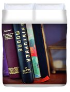 Books Duvet Cover