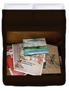 Books Of Beauty Duvet Cover