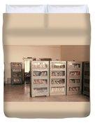 Bookshelves Duvet Cover