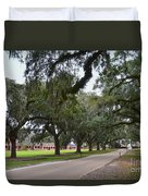 Boone Hall Plantation Duvet Cover