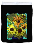 Boquet Of Sunshine Duvet Cover