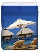 Bora Bora, Beach Duvet Cover