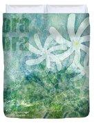 Bora Bora Believe Wall Art Duvet Cover