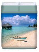 Bora Bora Moana Duvet Cover