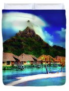 Bora Bora Duvet Cover