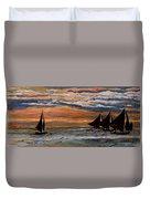 Boracay Sunset Duvet Cover