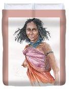 Boran Woman Duvet Cover