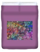 Border Crossing Duvet Cover