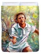 Boris Becker Duvet Cover