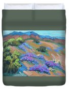 Borrego Springs Verbena Duvet Cover