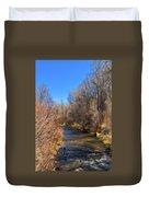 Bosque De Rio De Taos Duvet Cover