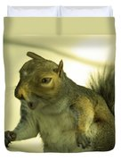 Bossy Squirrel Duvet Cover