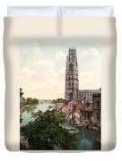 Boston - England Duvet Cover by International  Images