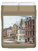 Boston, 19th Century Duvet Cover