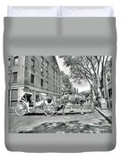 Boston Buggy Duvet Cover