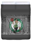 Boston Celtics Barn Doors Duvet Cover