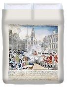 Boston Massacre, 1770 Duvet Cover