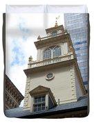 Boston Old State House Duvet Cover