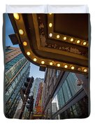 Boston Paramount Theater District Duvet Cover