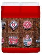 Boston Red Sox World Series Emblems Duvet Cover