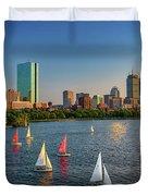 Boston Skyline Summer 2018 Duvet Cover