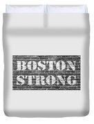 Boston Strong Duvet Cover
