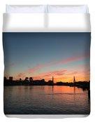 Boston Sunset Duvet Cover
