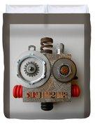 Bot Duvet Cover by Jen Hardwick