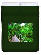 Botanic Gardens Trail Duvet Cover
