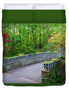 Botanical Bridge Duvet Cover