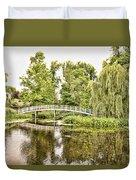 Botanical Bridge - Van Gogh Duvet Cover