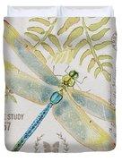 Botanical Dragonfly-jp3418b Duvet Cover
