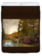 Botanical Wetlands Duvet Cover