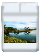 Botany Bay Marshland Duvet Cover