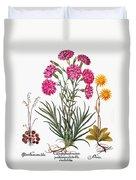 Botany: Flowers, 1613 Duvet Cover