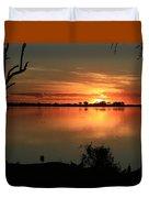 Botswanna Sunset Duvet Cover