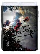 Bottle Brush Plant Duvet Cover